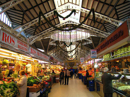 En DolceCity Valencia: Mercado Central